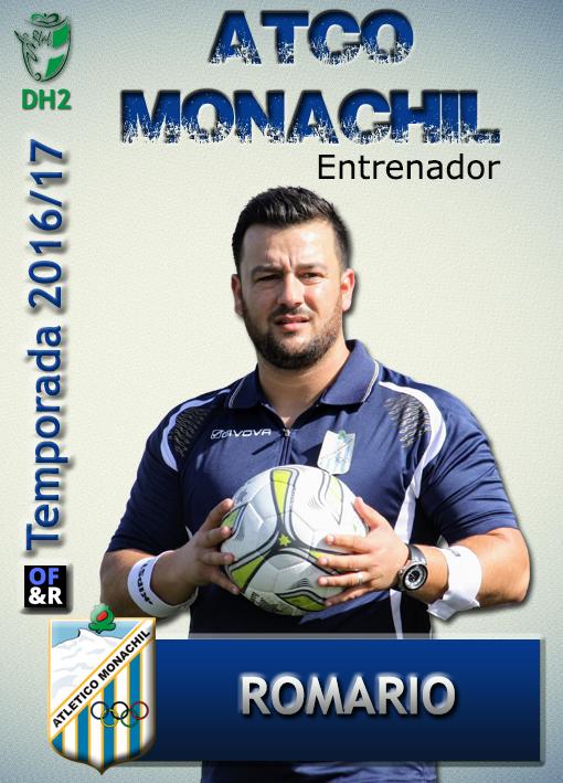 Plantilla ATCO MONACHIL 2016-17 - ROMARIO ENTRENADOR